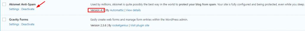 activate WP plugins