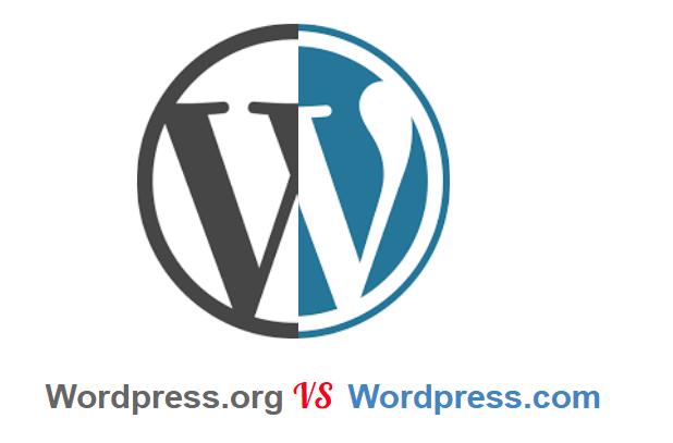 The difference between WordPress. com & WordPress.org