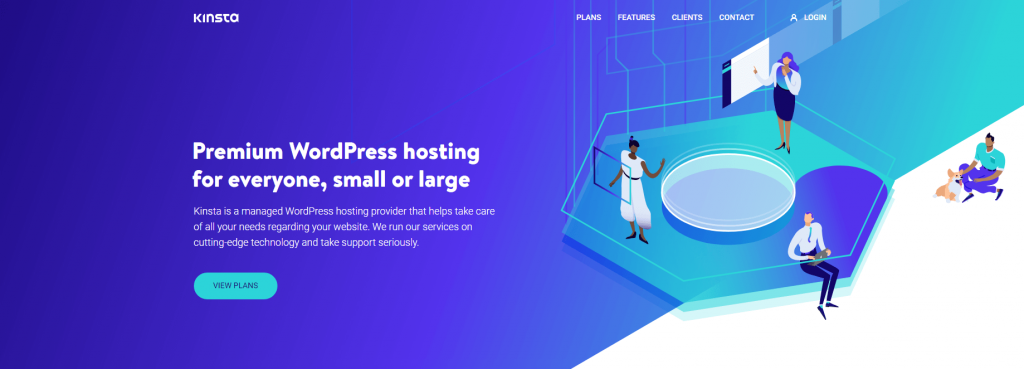 managed hosting - Kinsta