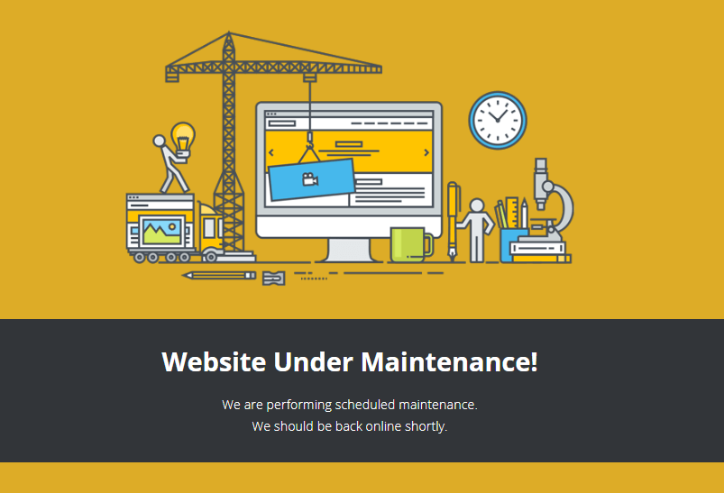 WordPress is under maintenance!