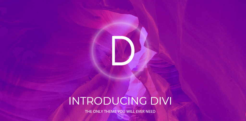 DIVI Theme by Elegant themes - The Best WordPress Theme for Blogs