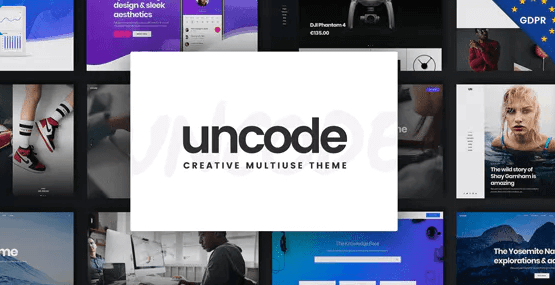 UnCode Theme- Best WordPress theme For Business.