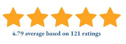 4.7 star rating for Hudson theme
