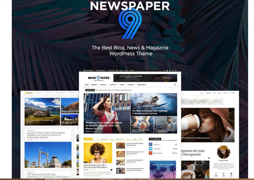 NewsPaper 9 - The Best Premium WordPress Theme for News, BLogs & Magazines by tagDiv