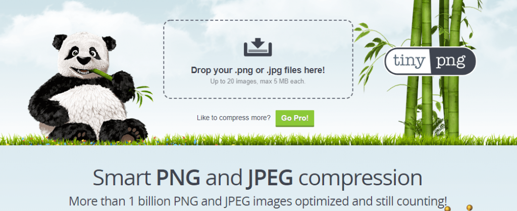 reduce image size with tiny PNG plugin