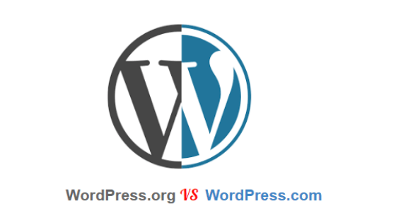 WordPress. com Vs  WordPress.org