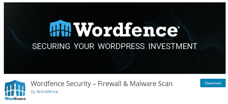 Wordfence - WordPress security plugins