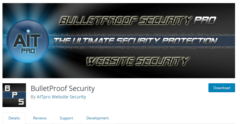 BulletProof - WordPress security plugins