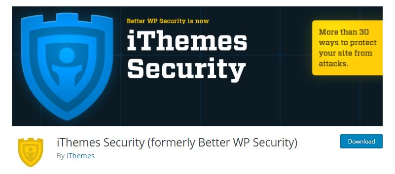 iTheme -WordPress security plugins