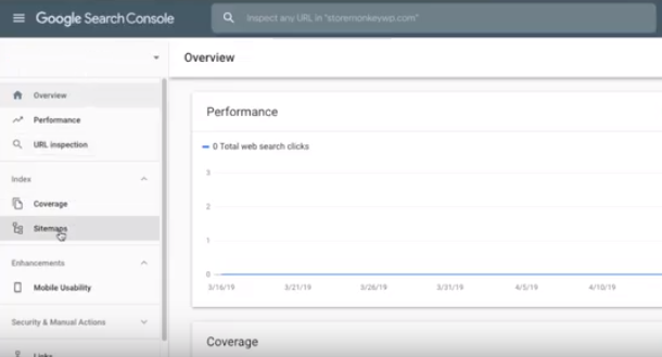 Add your XML sitemap in Google search console