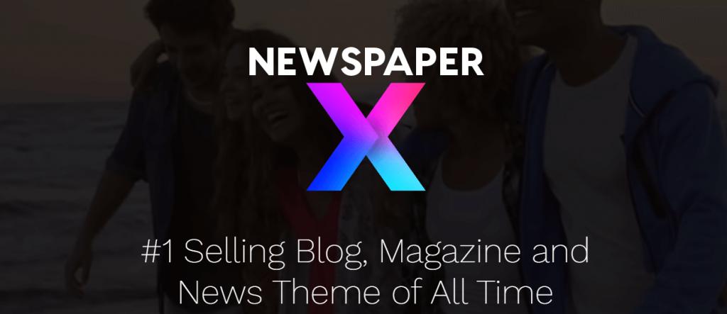 Newpaper X #1 selling blog theme