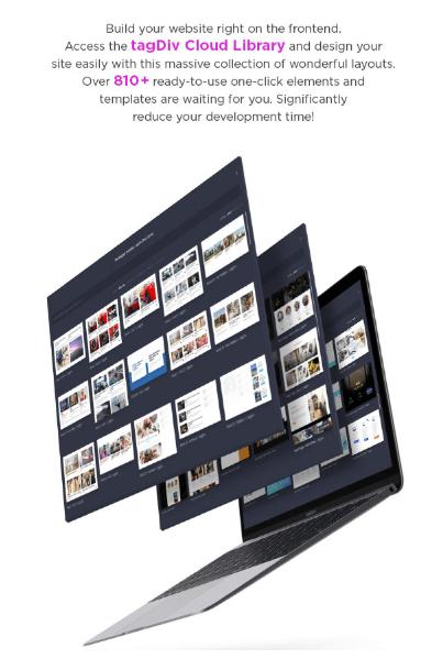 huge tagdiv cloud library