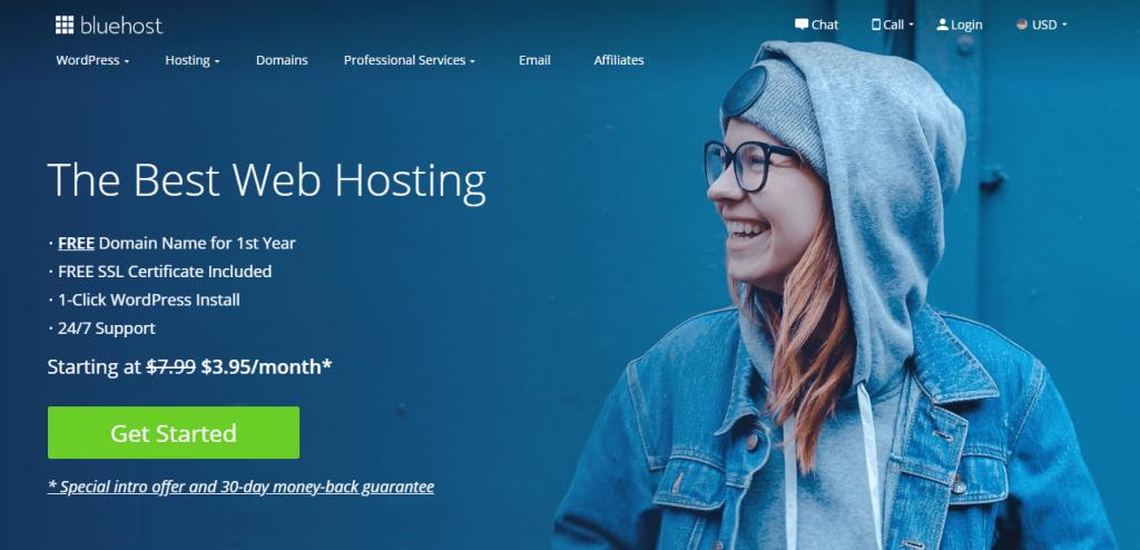 Best Web Hosting: BLusehost