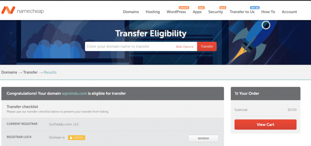 check transfer eligibility