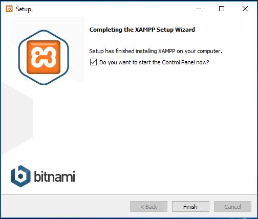 complete XAMPP installation