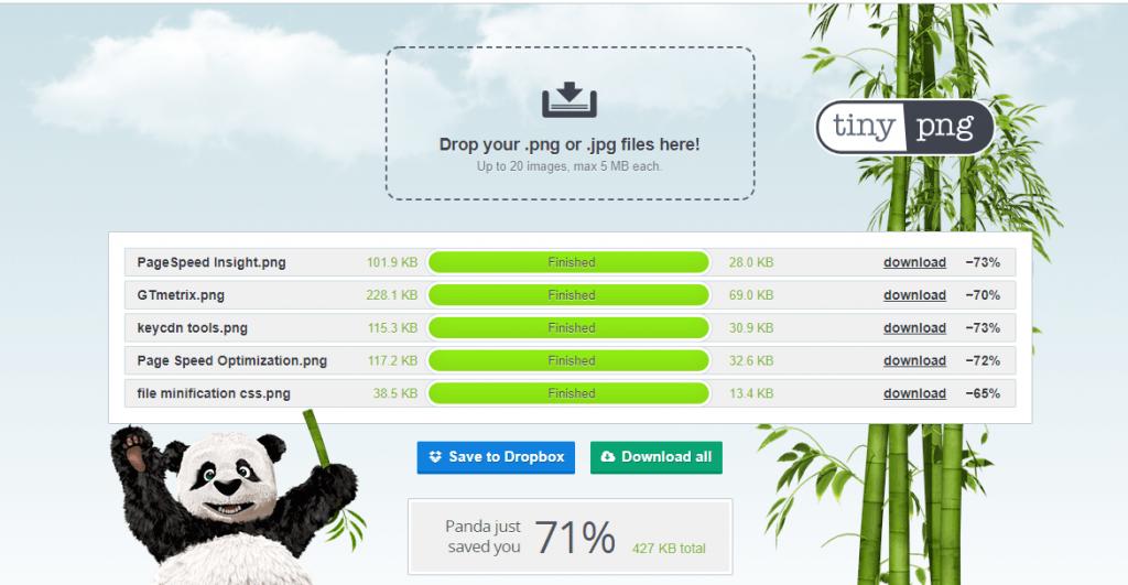 TinyPNG - WordPress image optimization plugin