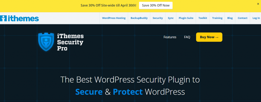 Best WordPress Security Plugins -iTheme WP security plugin