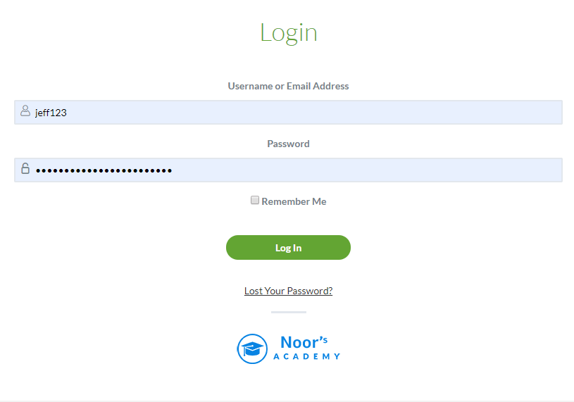 login from the student ID