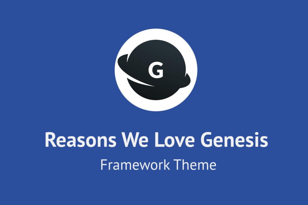 Genesis Framework theme for WordPress