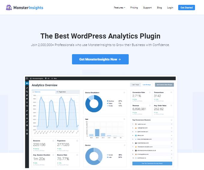MonsterInsight Analytics Plugin
