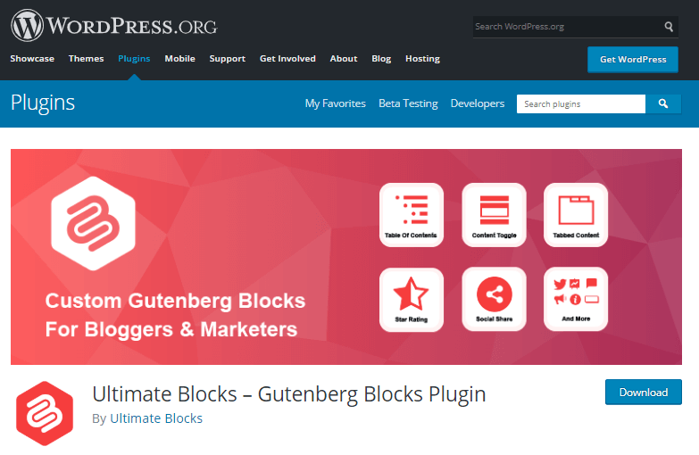 Ultimate Blocks- Gutenberg Plugin