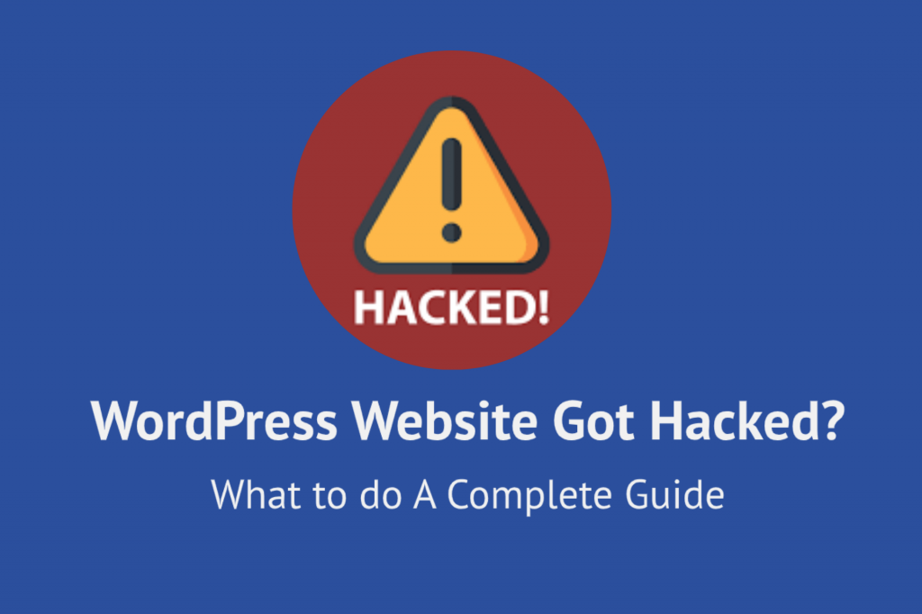 WordPress Website got Hacked