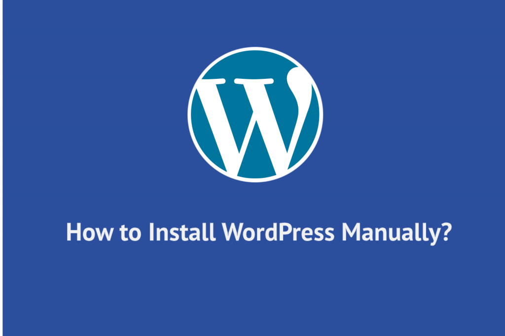 Install WP manually