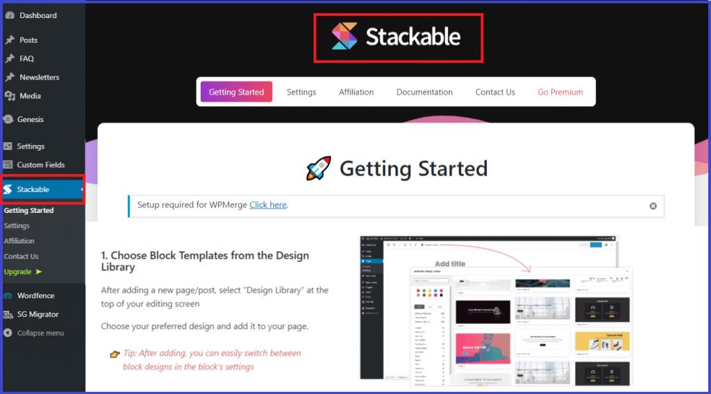 Configure Stackable plugin
