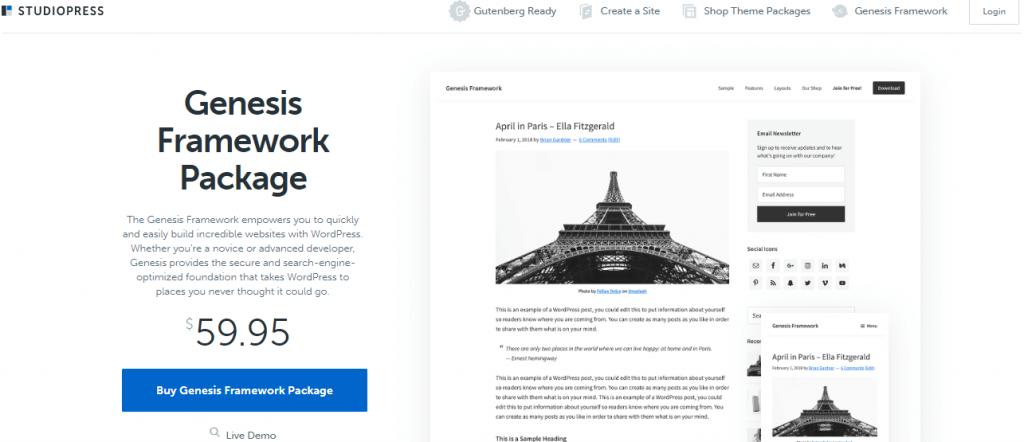 Build a WordPress Website from Scratch with Genesis Framework